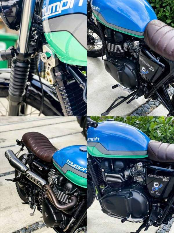 2014 Triumph Scrambler   for sale craigslist