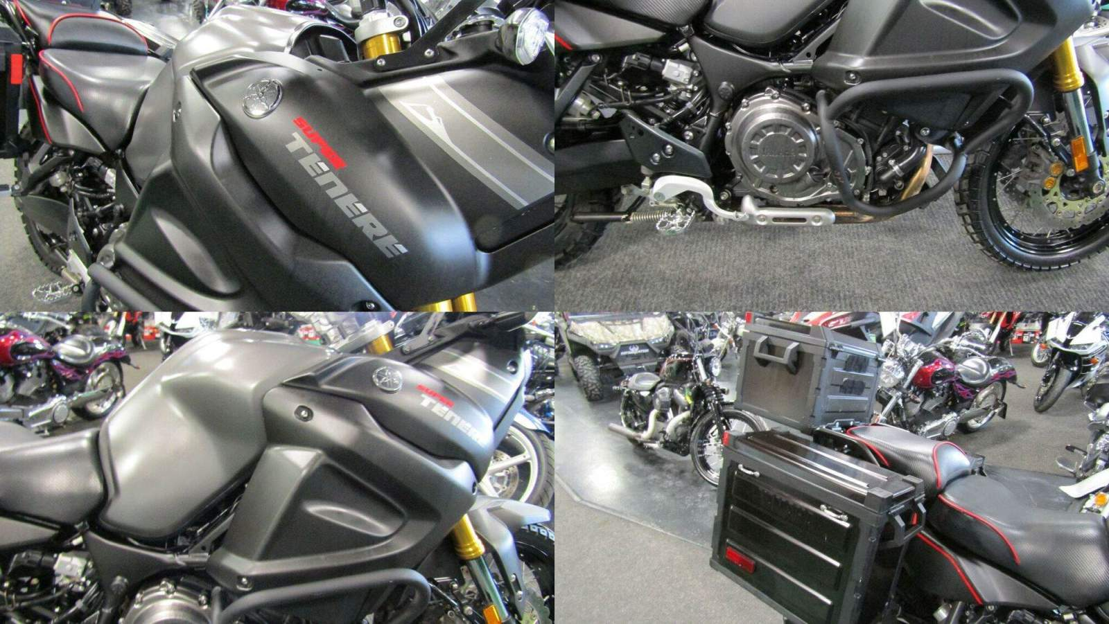 2014 Yamaha SUPER TENERE ES Silver used for sale