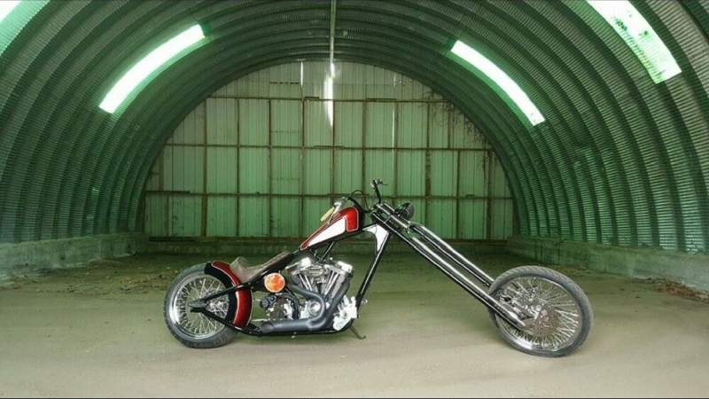 2015 Custom Built Motorcycles Chopper Black used for sale craigslist