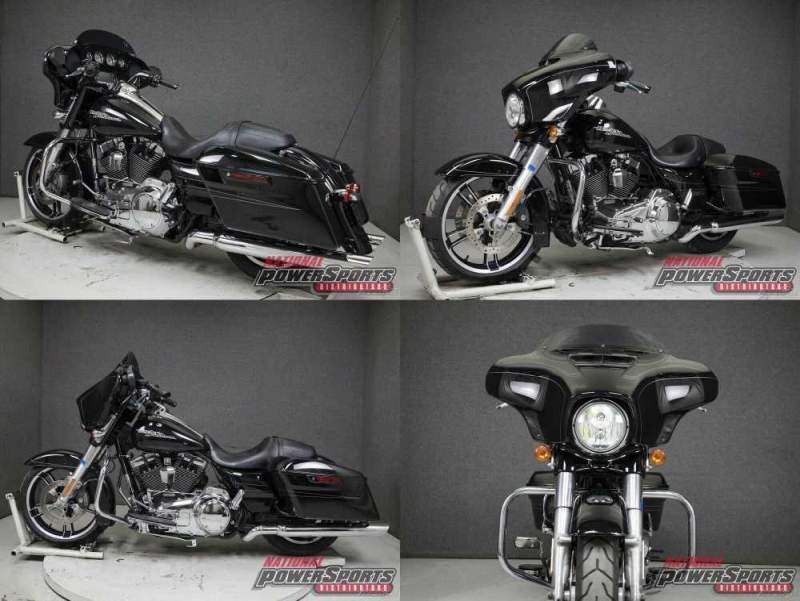 2015 Harley-Davidson Touring VIVID BLACK used for sale craigslist