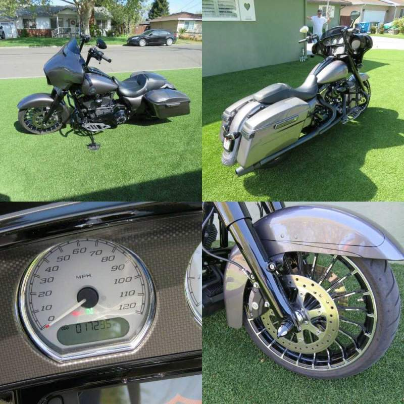 2015 Harley-Davidson Touring Charcoal Pearl used for sale