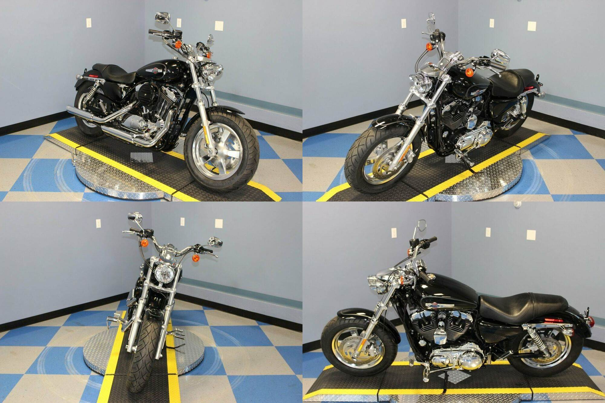 2015 Harley-Davidson XL1200 C Sportster Custom Black used for sale craigslist