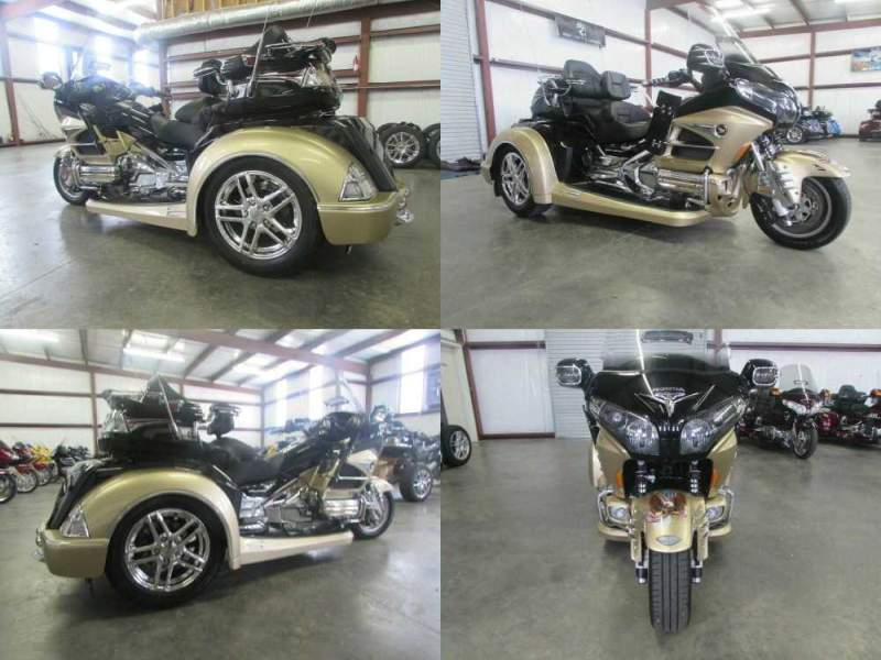 2015 Honda Gold Wing BLACK AND GOLD used for sale