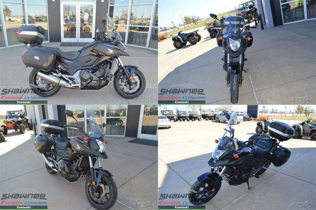 2015 Honda NC700X DCT ABS Black used for sale