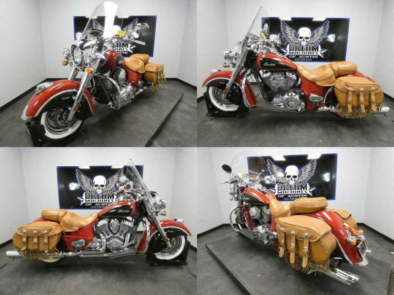 2015 Indian Chief Vintage Indian Red Thunder Black Red used for sale craigslist