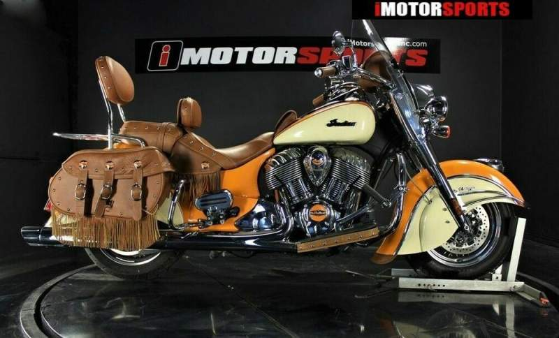2015 Indian Chief Vintage Thunder Black ONG/CRM used for sale craigslist