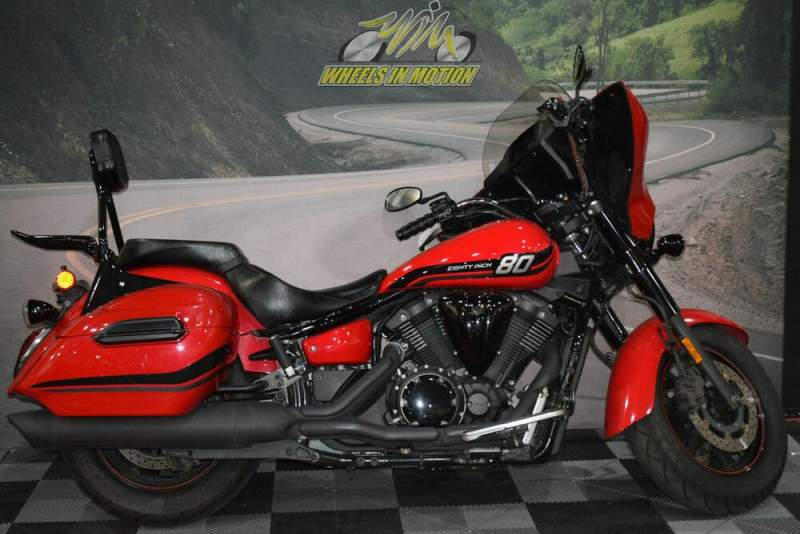 2015 Yamaha V Star® 1300 Deluxe Rapid Red Red used for sale
