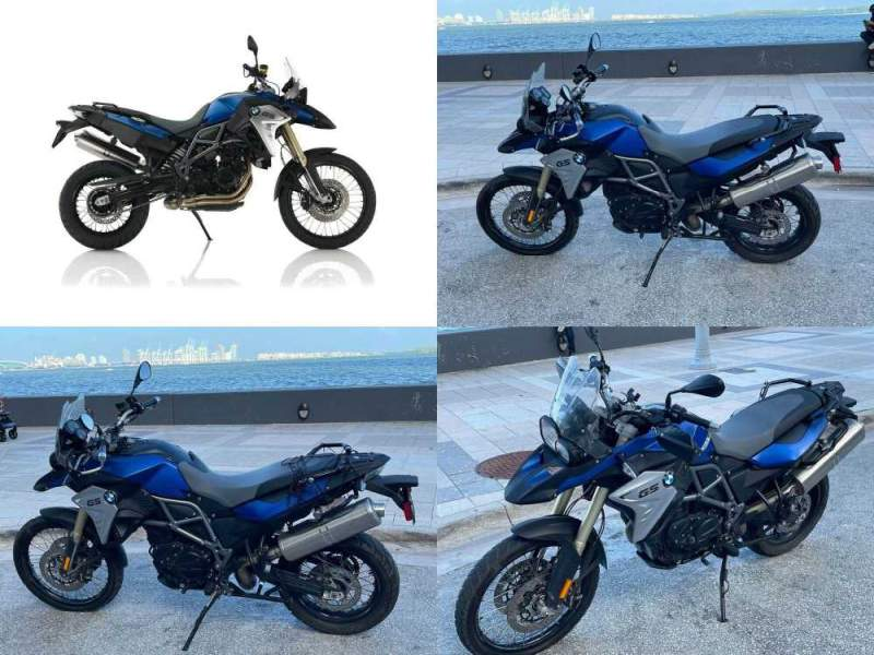 2016 BMW F800 GS Blue used for sale craigslist