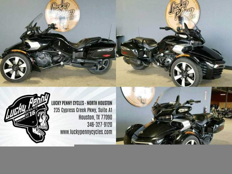 2016 Can-Am SPYDER F3-T Black used for sale craigslist