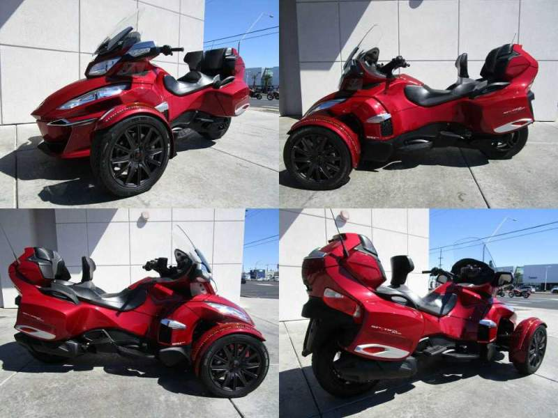 2016 Can-Am SPYDER RT-S SE6 Red used for sale