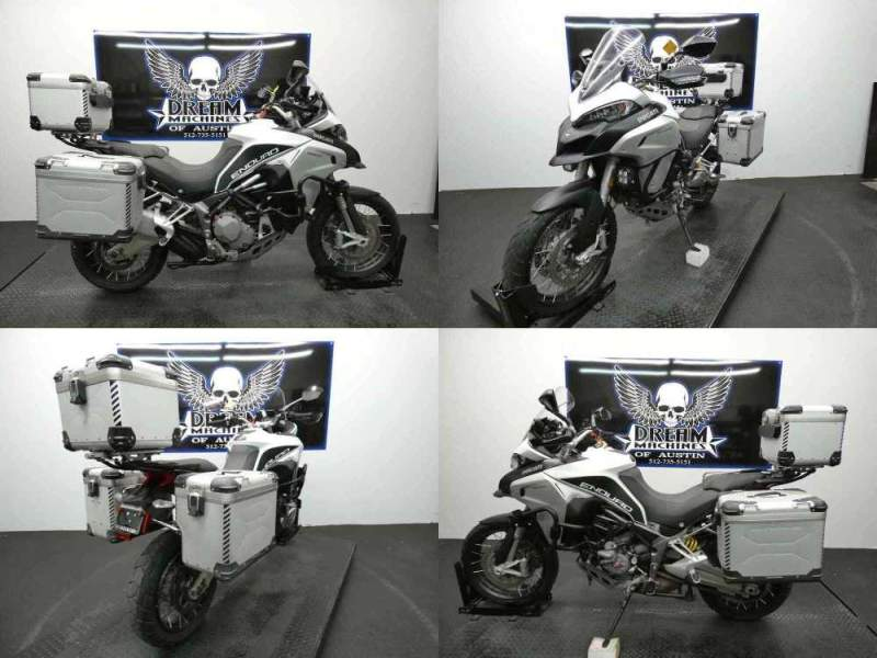 2016 Ducati Multistrada 1200 Enduro Touring Package White used for sale craigslist