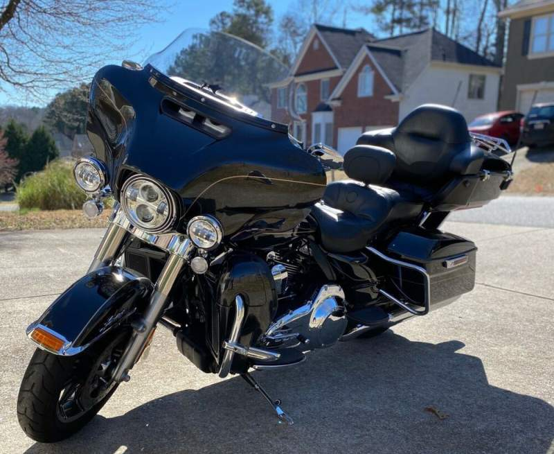 2016 Harley-Davidson FLHTK ULTRA LIMITED Black used for sale