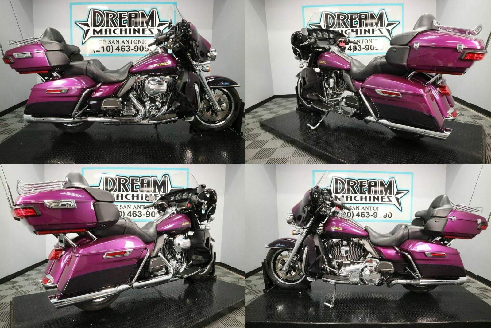 2016 Harley-Davidson FLHTK - Ultra Limited Purple used for sale craigslist