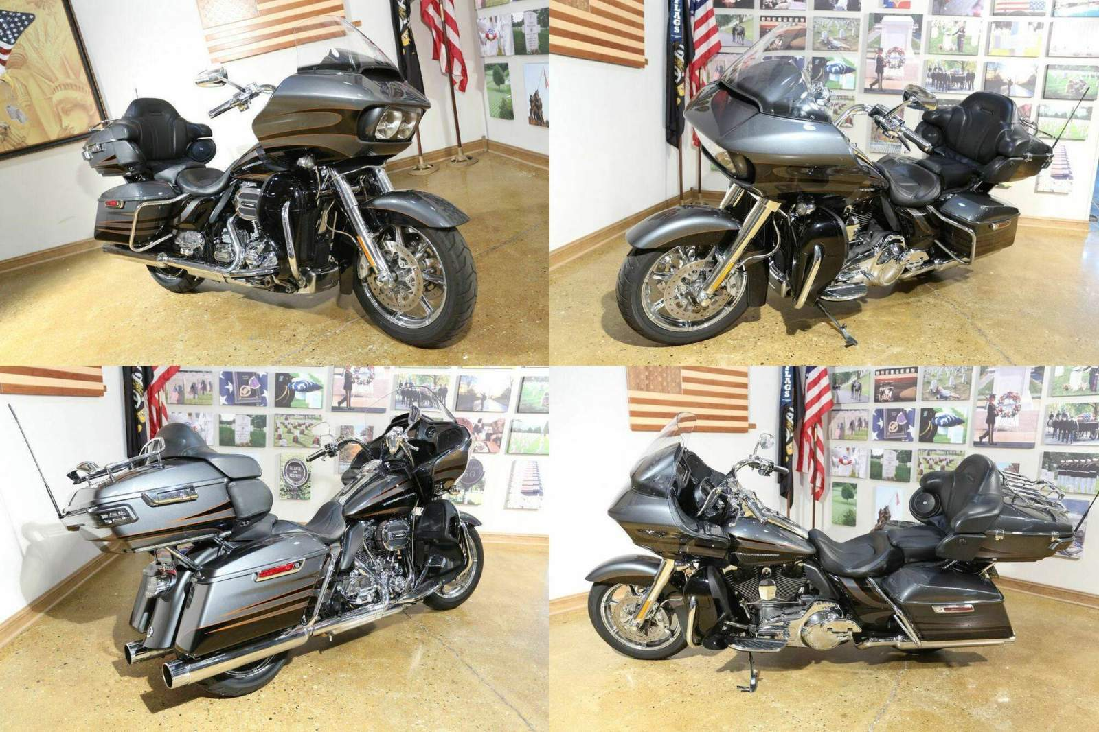2016 Harley-Davidson FLTRUSE - CVO™ Road Glide Ultra® Gray used for sale craigslist