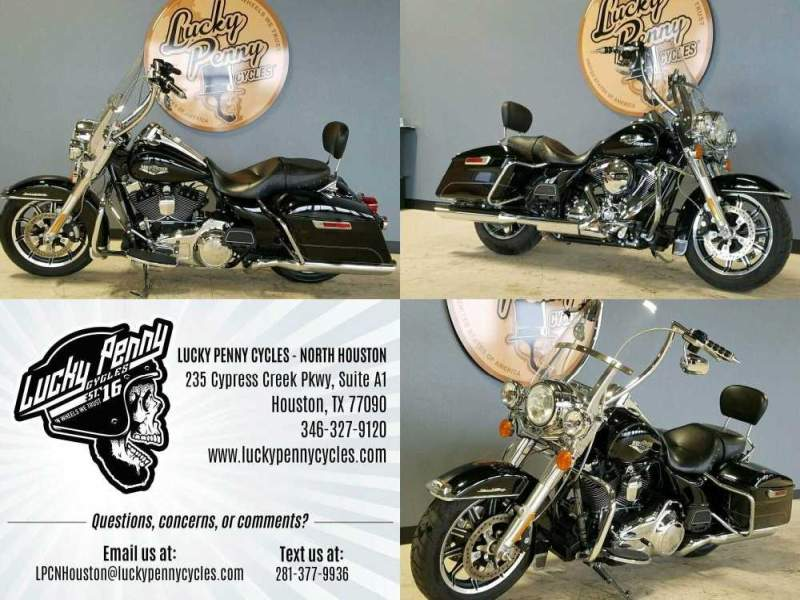 2016 Harley-Davidson Road King Base FLHR Black used for sale craigslist