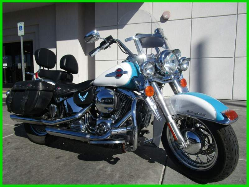 2016 Harley-Davidson Softail Crushed Ice Pearl / Frosted Teal Pearl used for sale craigslist