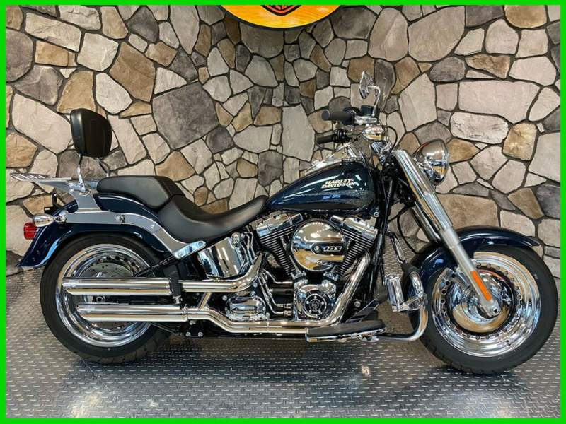 2016 Harley-Davidson Softail Cosmic Blue Pearl used for sale