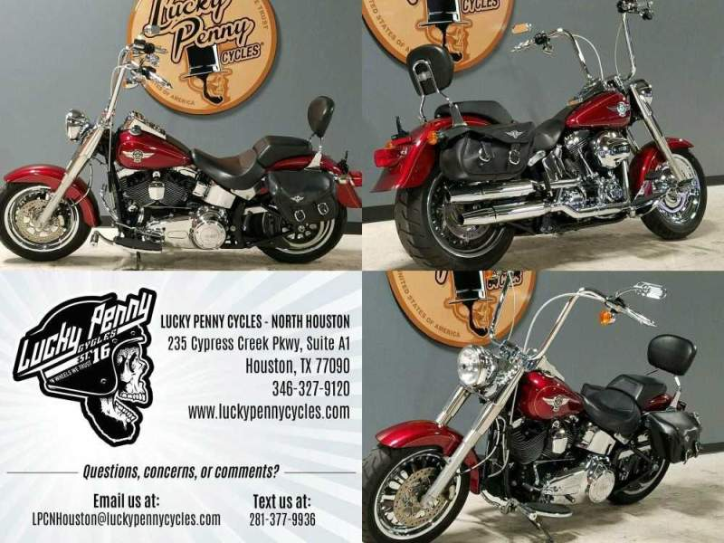 2016 Harley-Davidson Softail Fat Boy Red used for sale