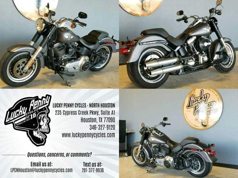 2016 Harley-Davidson Softail Fat Boy Gray used for sale