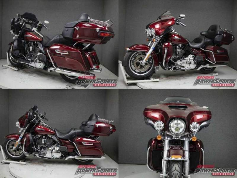 2016 Harley-Davidson Touring FLHTCU ELECTRA GLIDE ULTRA CLASSIC WABS MYSTERIOUS RED SUNGLO/VELOCITY RED SUNGLO used for sale craigslist