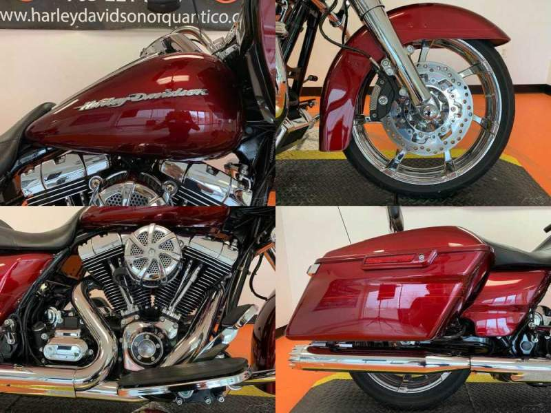 2016 Harley-Davidson Touring Velocity Red Sunglo used for sale craigslist