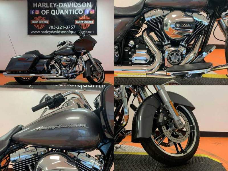 2016 Harley-Davidson Touring Charcoal Pearl used for sale