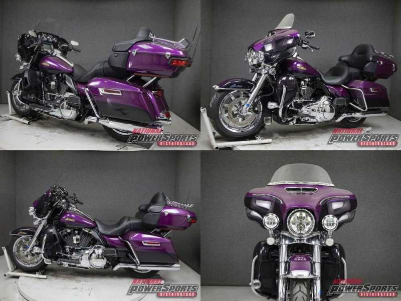 2016 Harley-Davidson Touring FLHTK ELECTRA GLIDE ULTRA LIMITED WABS PURPLE FIRE/BLACKBERRY SMOKE used for sale craigslist