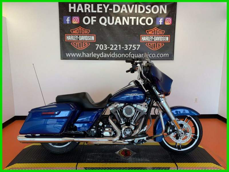 2016 Harley-Davidson Touring Superior Blue used for sale