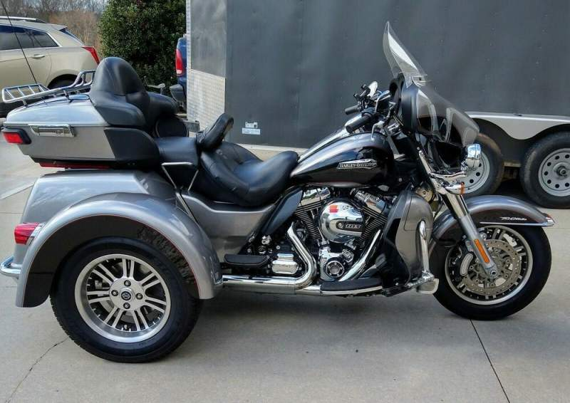 2016 Harley-Davidson Touring Silver used for sale craigslist