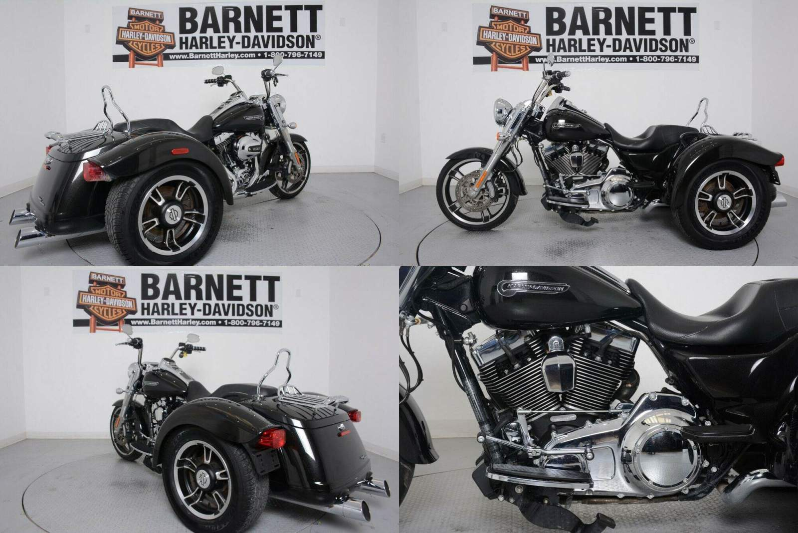 2016 Harley-Davidson Trike Freewheeler Black Quartz used for sale craigslist
