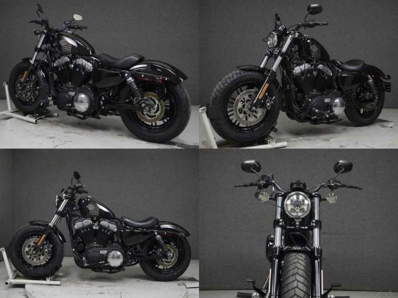 2016 Harley-Davidson XL1200X SPORTSTER 1200 FORTY EIGHT VIVID BLACK used for sale