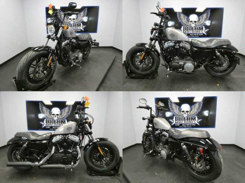 2016 Harley-Davidson XL1200X - Sportster Forty-Eight Silver used for sale craigslist
