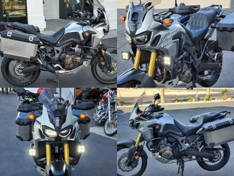 2016 Honda Africa Twin CRF1000L DCT -- used for sale