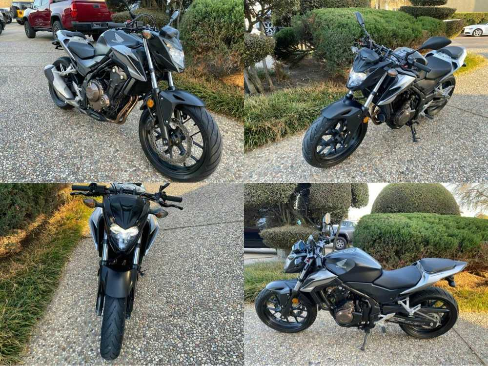 2016 Honda CB Black used for sale craigslist