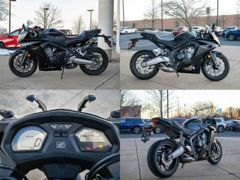 2016 Honda CBR Black used for sale craigslist