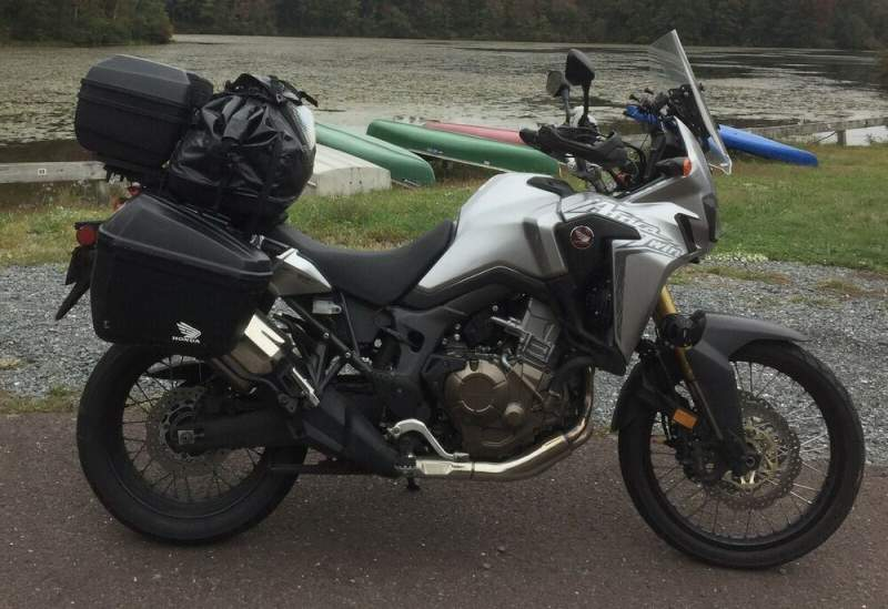 2016 Honda CRF1000L Grey used for sale