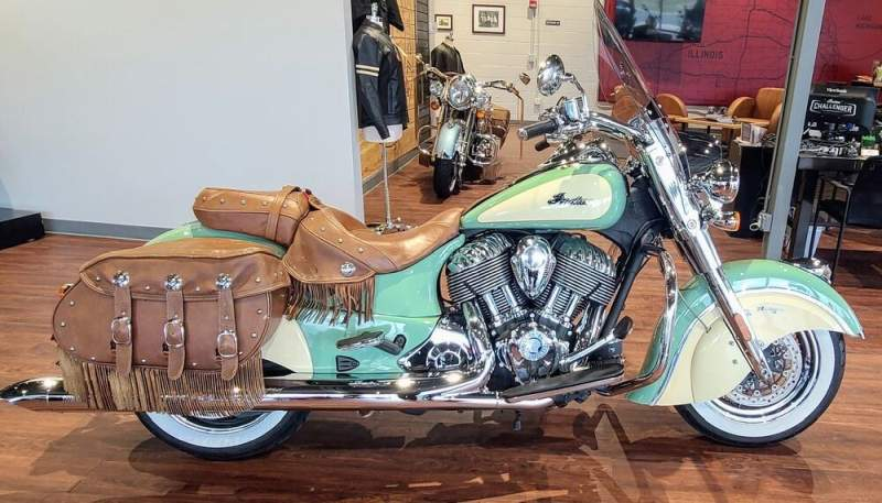 2016 Indian Chief® Vintage Green used for sale craigslist
