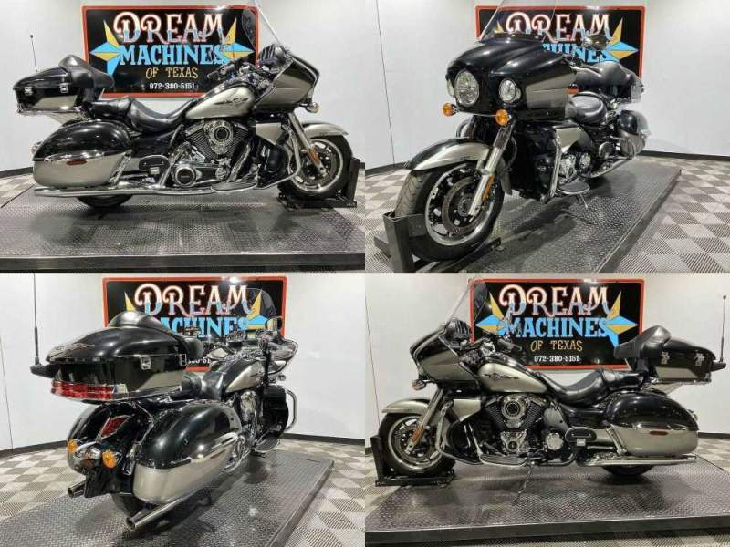 2016 Kawasaki Vulcan 1700 Voyager ABS Silver used for sale craigslist