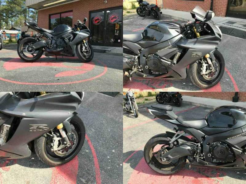 2016 Suzuki GSX-R750L1 -- used for sale