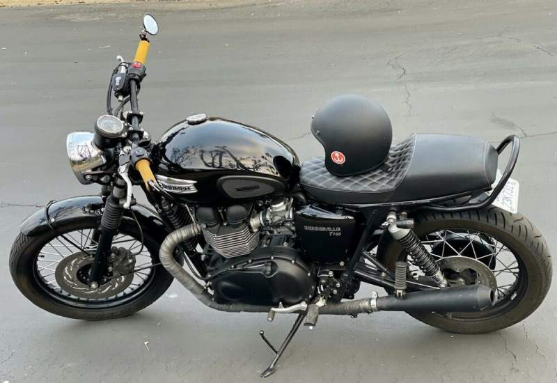 2016 Triumph Bonneville Black used for sale