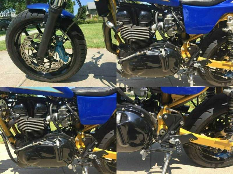 2016 Triumph Bonneville Blue used for sale craigslist