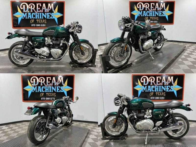 2016 Triumph Thruxton 1200 Green used for sale craigslist