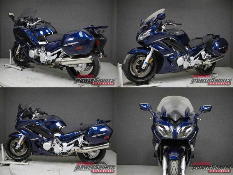 2016 Yamaha FJR Blue used for sale