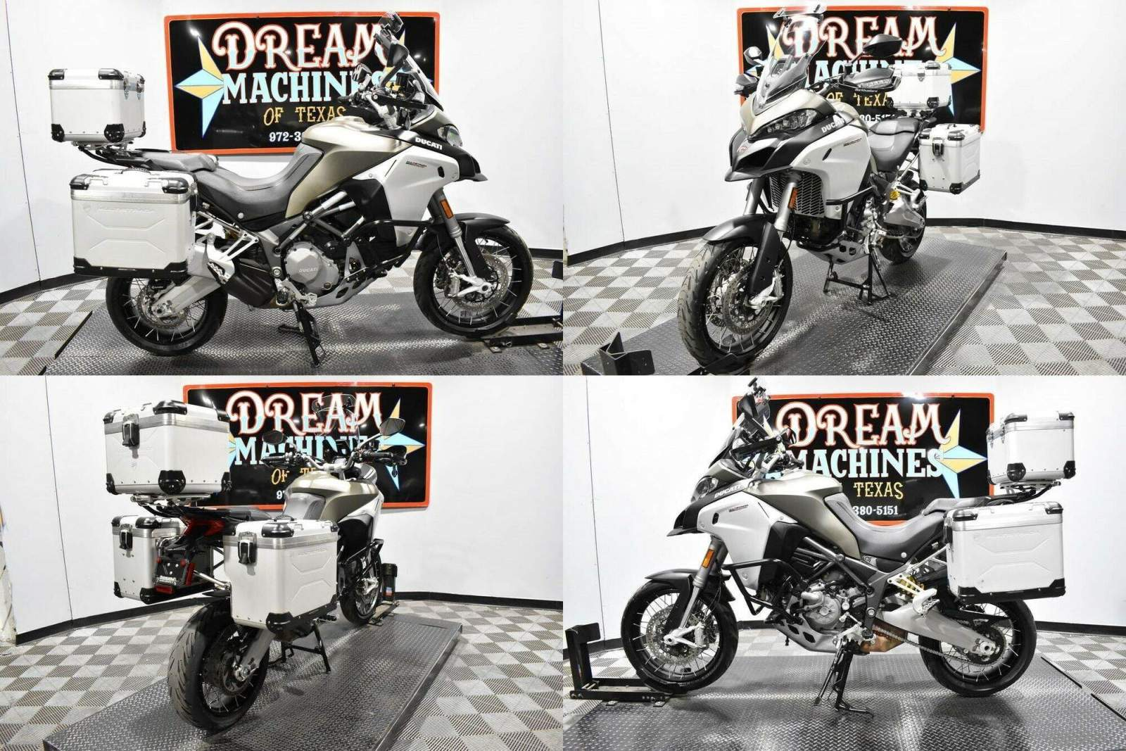 2017 Ducati Multistrada 1200 Enduro Tour Package Gray used for sale