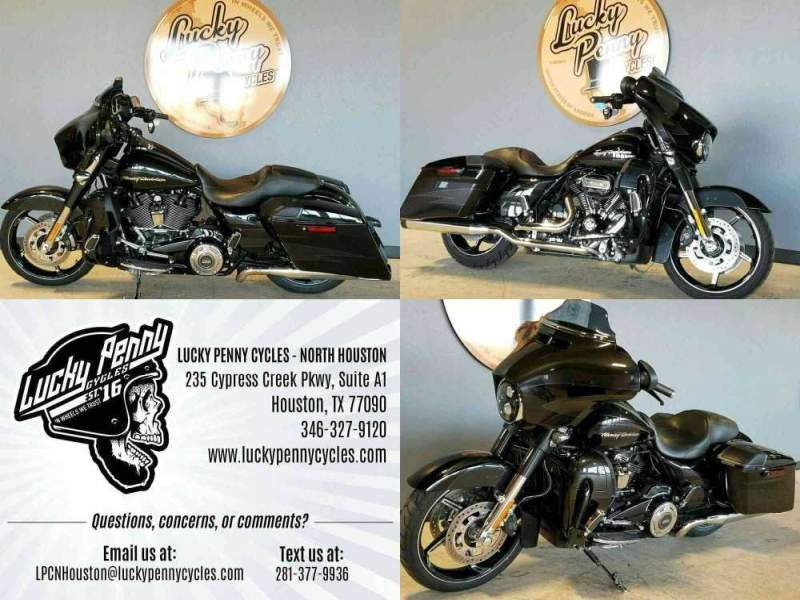 2017 Harley-Davidson CVO Street Glide Black used for sale craigslist