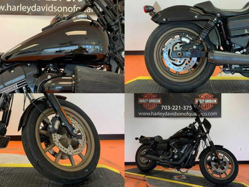 2017 Harley-Davidson S-Series Low Rider S Vivid Black used for sale