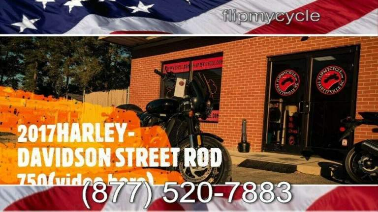 2017 Harley-Davidson STREET ROD 750 -- used for sale craigslist