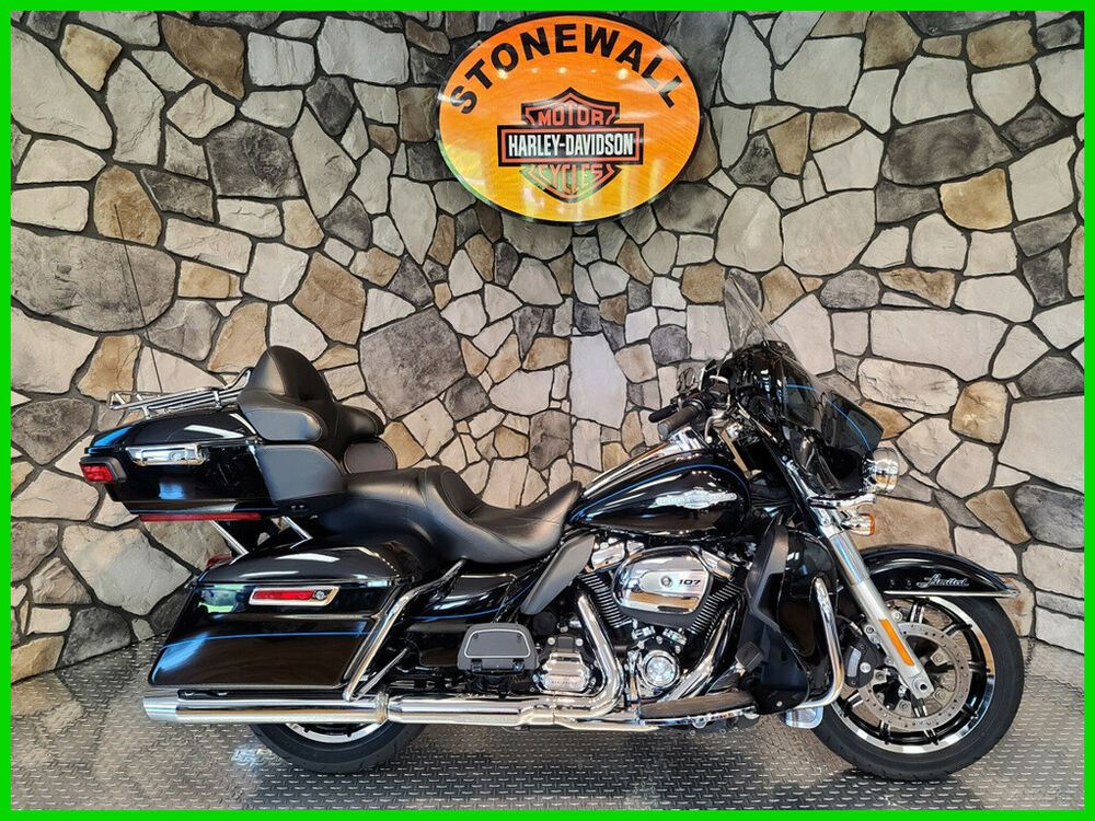 2017 Harley-Davidson Touring Vivid Black (Peace Officer Special Edition) used for sale craigslist
