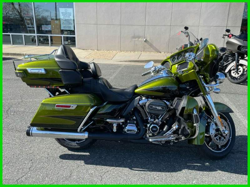 2017 Harley-Davidson Touring CVO Limited Spiked Olive / Serpentine Green used for sale craigslist