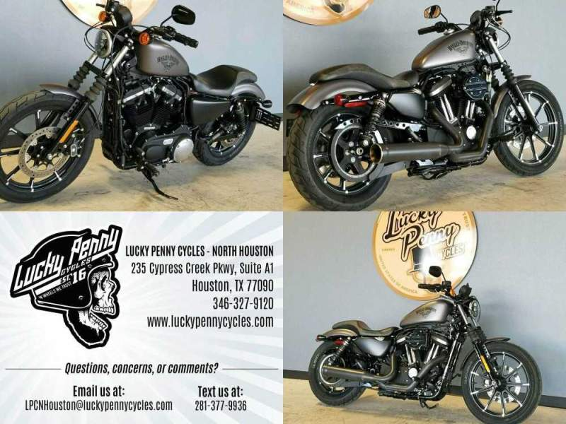 2017 Harley-Davidson XL883 Iron Gray used for sale
